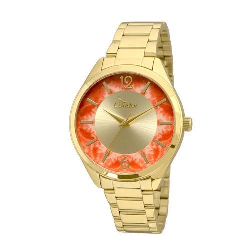 Relógio Feminino Condor Analógico CO2035KRR 4L Fundo Vermelho 35a373854b