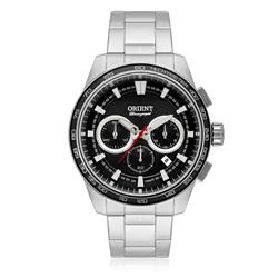 Relógio Masculino Orient Chronograph MBSSC166 P1SX Aço