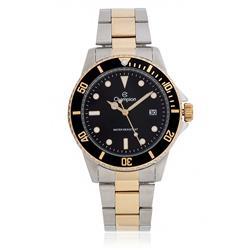 Relógio Masculino Champion CA31266P Aço Misto fundo preto