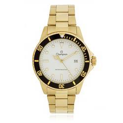 5eeaa09a9a2 Relógio Masculino Champion CA31266H Dourado fundo br.