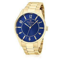 Relógio Feminino Champion Elegance CN26288A Fundo Azul