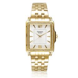e726bc8d813 Relógio Feminino Champion Passion CN29294H Dourado com cristais