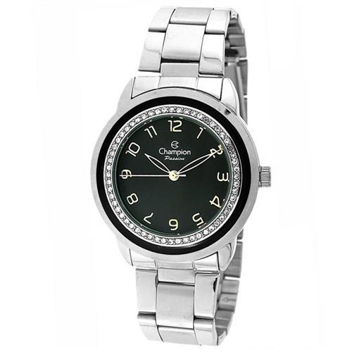 Relógio Feminino Champion Passion CN29963T Aço com cristais