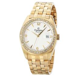 e645d94a390 Relógio Feminino Champion Passion CN29981H Dourado com cristais