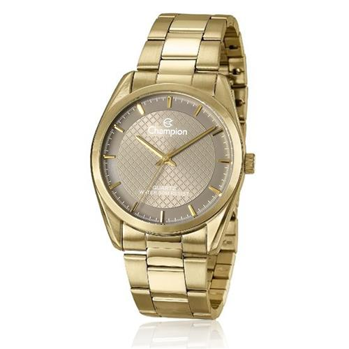 c3221968cf9 Relógio Feminino Champion CN29525C Dourado fundo bronze