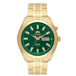 Relógio Masculino Orient Automatic 469GP075 E1KX Fundo Verde