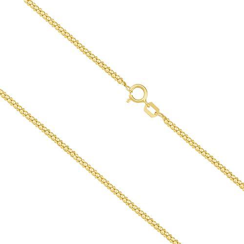 Corrente Feminina Malha Pipoca, 2,4 gramas em Ouro Amarelo
