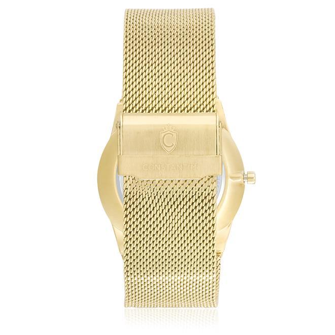 8e6cdc550f3 Relógio Constantim Gold Black ZW20010U Pulseira Esteira. Ampliar