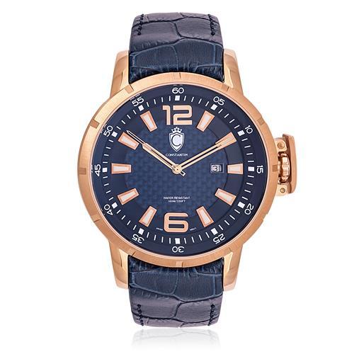 779e40f91bf Relógio Constantim Lucern Executive ZW30205A Rose Blue