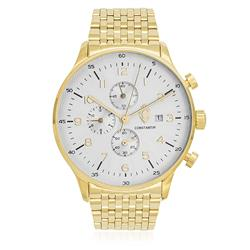 11a2cb2c8e6 Relógio Constantim Gold White ZW20038H Dourado