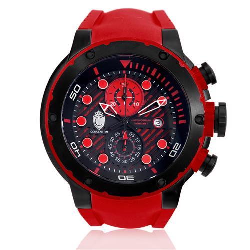 14c0ea17371 Relógio Masculino Constantim Chronograph ZW30232V Red