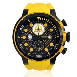 Relógio Constantim Chronograph Yellow ZW30232Y Borracha