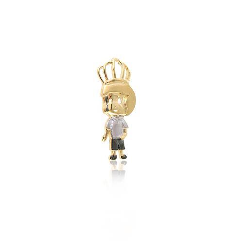 Pingente Menino Príncipe em Ouro Amarelo