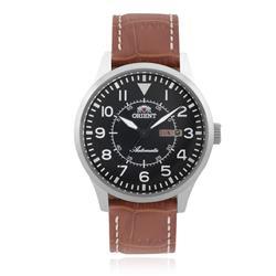 Relógio Masculino Orient Automatic  469SS054 P2MX Couro Marrom