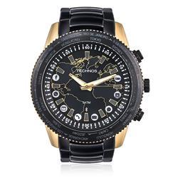 Relógio Masculino Technos Connect 753AA/4P Aço Misto