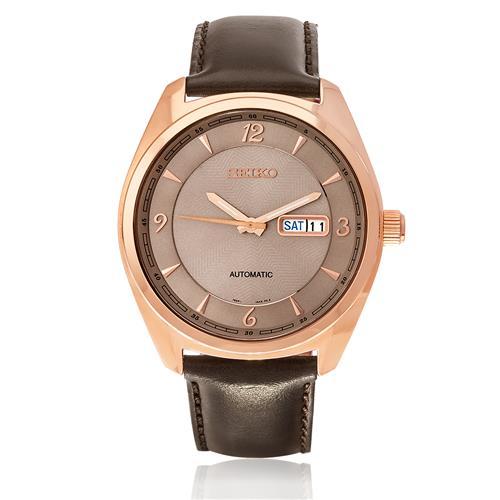 Relógio Masculino Seiko Automatic SNKN72B1 G2NX Rose