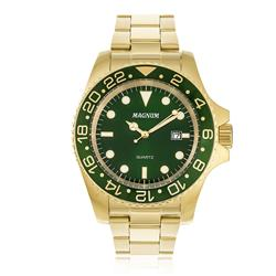 Relógio Masculino Magnum Analógico MA32934G Dourado