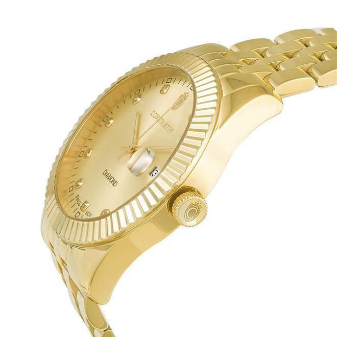1fdca692ae6 Relógio Constantim Diamond ZW20065G All Gold. Ampliar