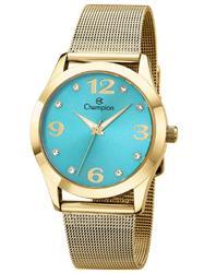 Relógio Feminino Champion Analógico CN29098F Fundo Azul