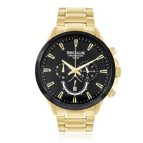 Relógio Masculino Seculus Chronograph 20384GPSVDA1 Dourado