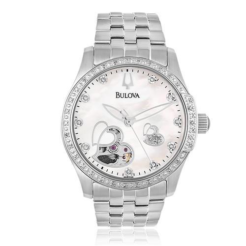 a40d3b219fc Relógio Feminino Bulova Automatic Diamond