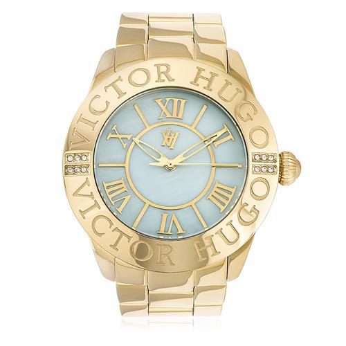 491b2c185e5 Relógio Feminino Victor Hugo fundo madrepérola