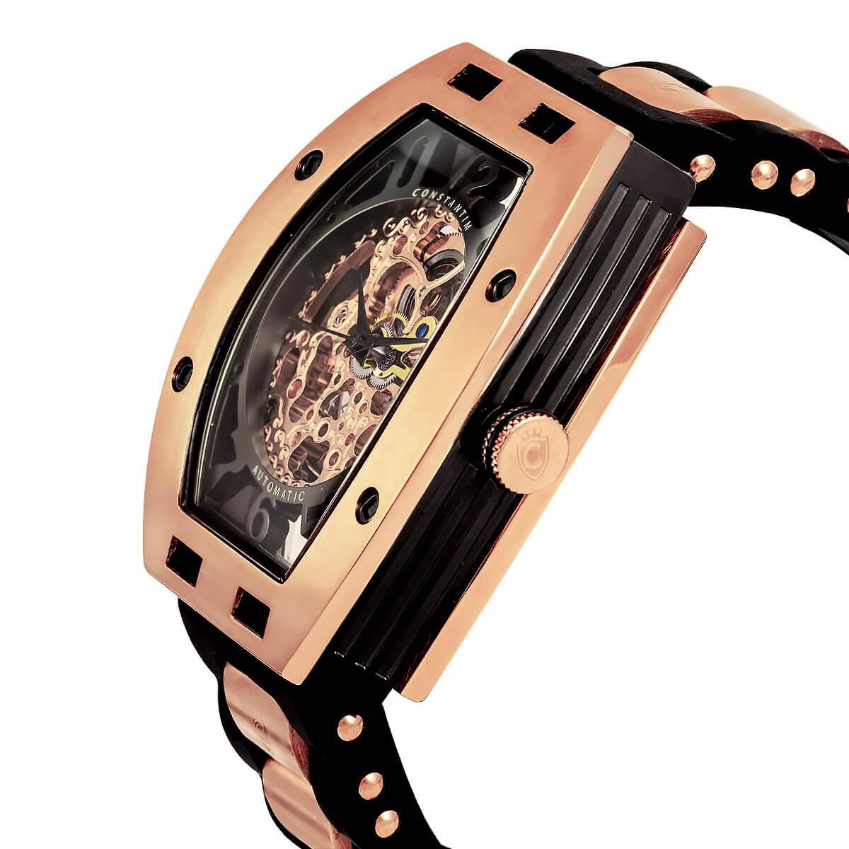 5b0bd807df8 Relógio Masculino Constantim Full Skeleton ZW30303P Automatic Rose