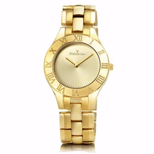 Relógio Jean Vernier Analógico JV3665 Dourado