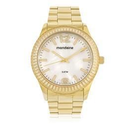 Relógio Feminino Mondaine Analógico 76596LPMVDE7 Dourado