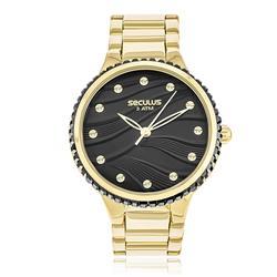 Relógio Feminino Seculus 13018LPSVDS3 Dourado