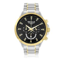 Relógio Masculino Seculus Chronograph 20384GPSVBA4 Misto