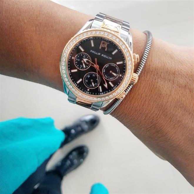 Relógio Feminino Phillip Monte Carlo ZY28145P Mixed Rose. Ampliar a2ae63e868