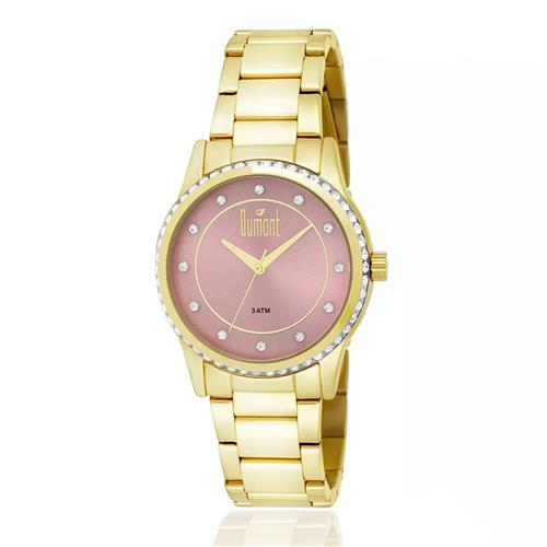 99c3c3eb26e Relógio Feminino Dumont Splendore DU2035LQC 4T Dourado