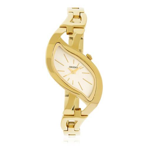 870ff902cad Relógio Feminino Orient LGSS0046 S1KX Dourado