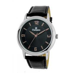Relógio Feminino Champion Analógico CN20408T Fundo Preto