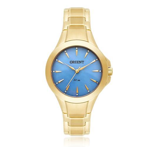 e78fca173b1 Relógio Feminino Orient Analógico FGSS0084 A1KX Madrepérola Azul