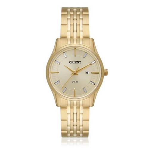 03b13196a5f Relógio Feminino Orient Analógico FGSS1118 C1KX Dourado