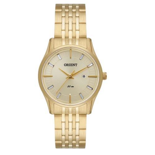 Relógio Feminino Orient Analógico FGSS1118 C1KX Dourado