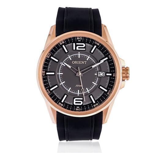 Relógio Masculino Orient Analógico MRSP1002 G2PX Borracha