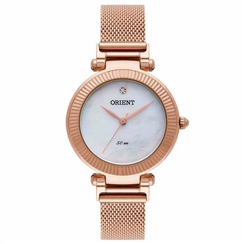 Relógio Feminino Orient Analógico FRSS0023 B1RX Rose