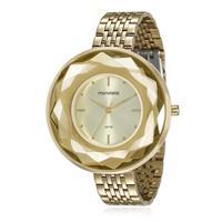 Relógio Feminino Mondaine Analógico 99054LPMVDE1 Dourado