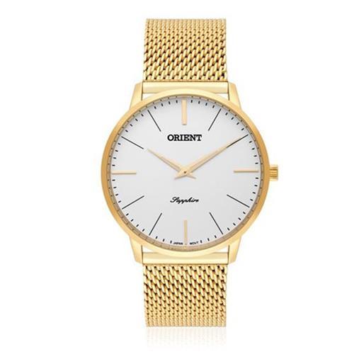 Relógio Masculino Orient Sapphire Analógico MGSSS005 S1KX Dourado