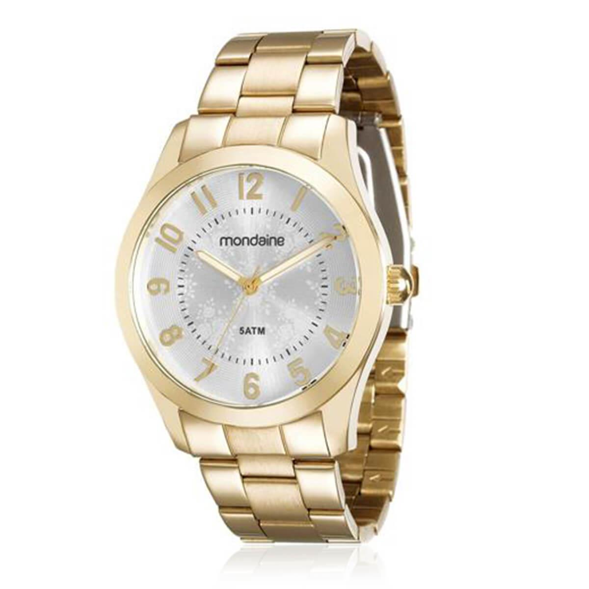 e3a3ac3f33f Relógio Feminino Mondaine Analógico 78682LPMVDA2 Dourado