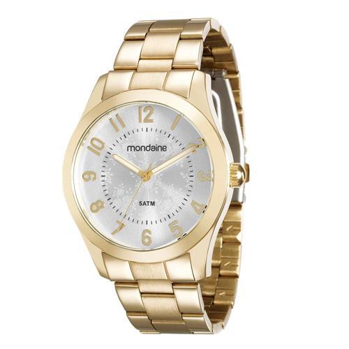Relógio Feminino Mondaine Analógico 78682LPMVDA2 Dourado