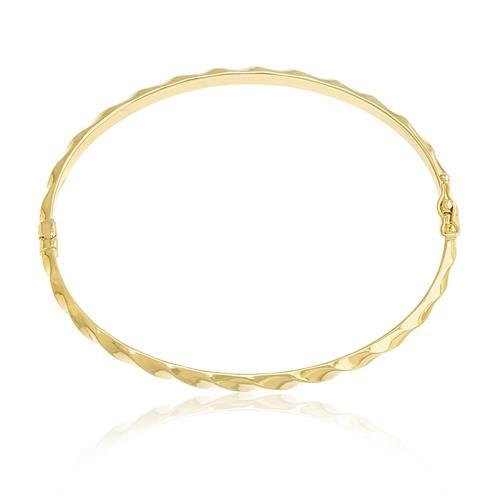 Bracelete Algema em Ouro Amarelo