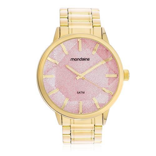 3b6514cf698 Relógio Feminino Mondaine Analógico 83344LPMVDE4 Fundo Rosa
