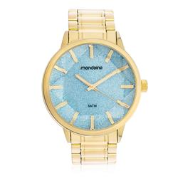 Relógio Feminino Mondaine Analógico 83344LPMVDE5 Dourado