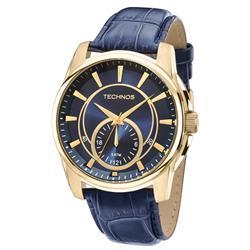 Relógio Masculino Technos Classic Grandtech 6P28AA/2A Couro Azul