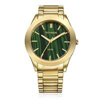 Relógio Feminino Technos Stone Collection 2033AE/4V Malaquita