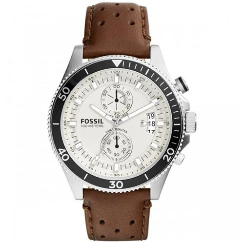 Relógio Masculino Fossil Analógico CH2943/2MN Couro